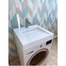 Умывальник /раковина над стиральной машиной Блюз 600х600 с щелевым сифоном
